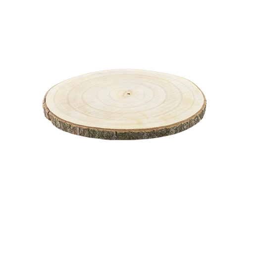 Centre De Table rondin Bois Naturel 30 cm