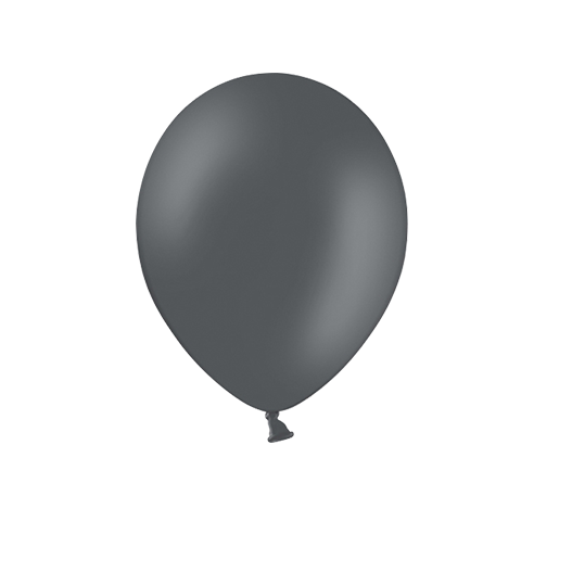 Ballon Latex Biodégradable Gris 28 cm