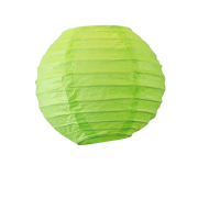 Apple Green Round Paper Lantern 4""