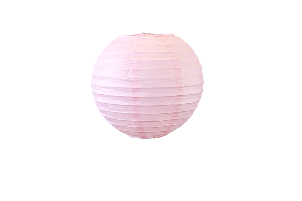 boule japonaise design rose p le 30 cm skylantern fr. Black Bedroom Furniture Sets. Home Design Ideas