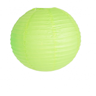Apple Green Round Paper Lantern 16""