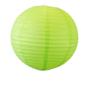 Apple Green Round Paper Lantern 20""
