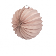 Pale Pink Accordion Paper Lantern Ball 8""