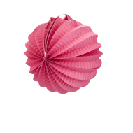 Fuchsia Accordion Paper Lantern Ball 8""