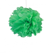 "Sea Green Paper Pom Poms 8"" x2"