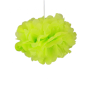"Apple Green Paper Pom Poms 8"" x2"