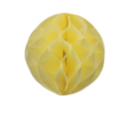 Ivory Honeycomb Paper Ball 8""