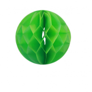 Apple Green Honeycomb Paper Ball 8""