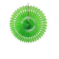Apple Green Paper Snowflake 12""