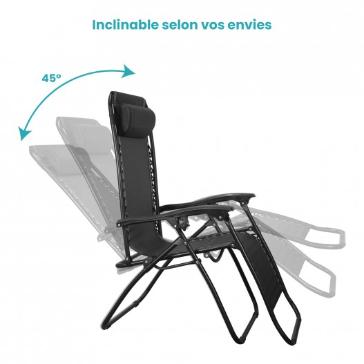 Chaise Longue Pliable Confortable