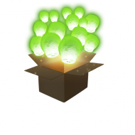 Apple Green Sky Lanterns x100