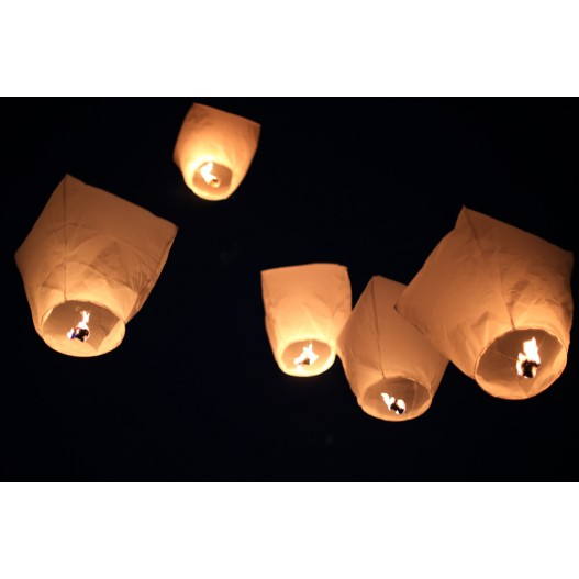 White Diamond Sky Lantern