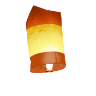 Orange and Yellow Chinese Sky Lantern