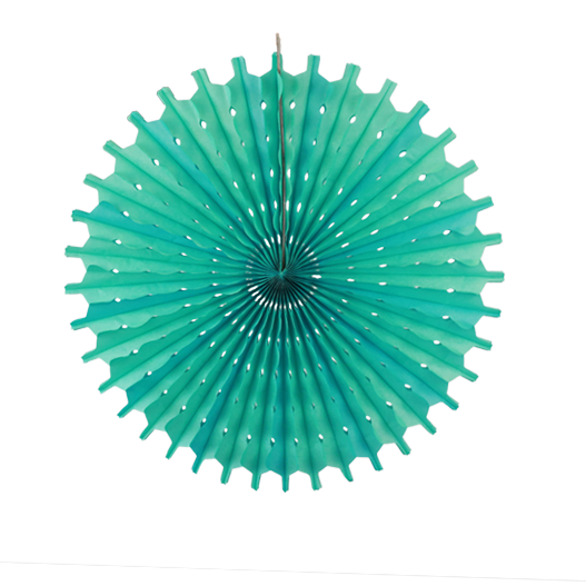 Sea Green Paper Snowflake 20""