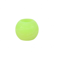 Apple Green Round Wax LED Candle 2""
