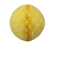 Ivory Honeycomb Paper Ball 12""