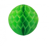 Apple Green Honeycomb Paper Ball 12""