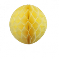 Ivory Honeycomb Paper Ball 16""