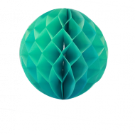 Sea Green Honeycomb Paper Ball 16""