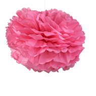 Pompons Rose Girly 50cm x2