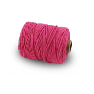 Fuchsia Cotton String