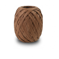 Chocolate Raffia Ribbon