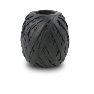 Black Raffia Ribbon