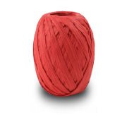 Red Raffia Ribbon