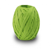 Apple Green Raffia Ribbon