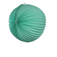 Sea Green Accordion Paper Lantern Ball 14""