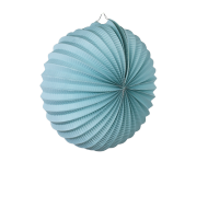 Aquamarine Accordion Paper Lantern 12""