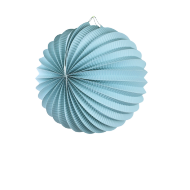 Aquamarine Accordion Paper Lantern Ball 8""