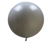 "36""  Grey Giant Balloon"