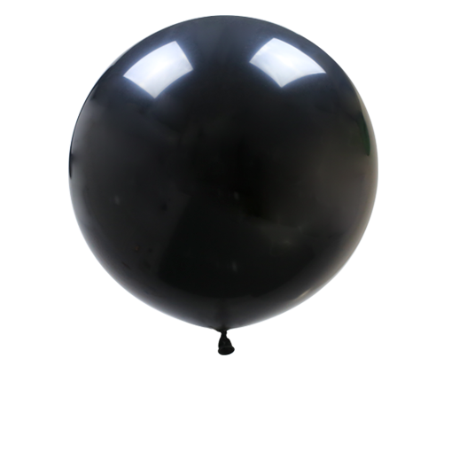 "36"" Black Giant Balloon"