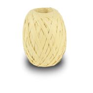 Pale Yellow Raffia Ribbon