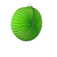 Apple Green Accordion Paper Lantern 12""