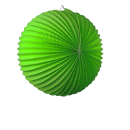 Apple Green Accordion Paper Lantern Ball 14""