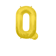 Letter Balloon Q Gold 14""