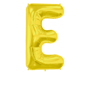 Letter Balloon E Gold 36""
