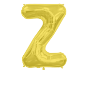 Letter Balloon Z Gold 36""