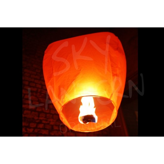 Multicoloured Sky Lanterns x6
