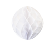 White Honeycomb Paper Ball 8""