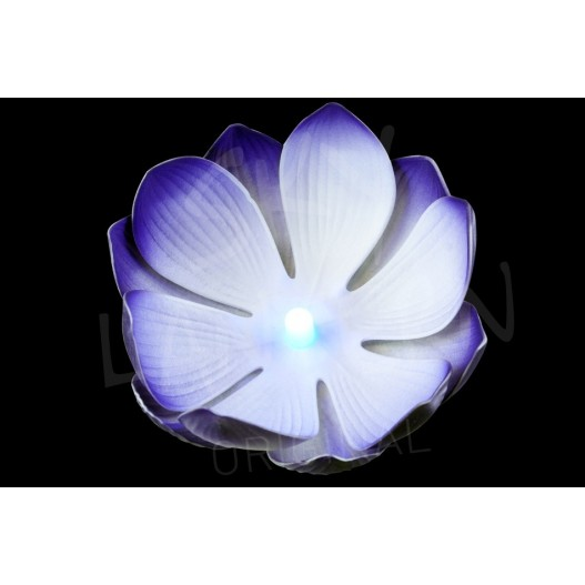 Nymphea LED Bleue