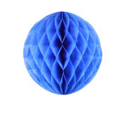 Royal Blue Honeycomb Paper Ball 8""