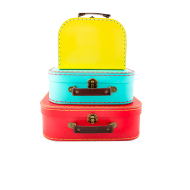 Valises Deco Flashy x3