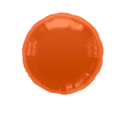Ballon Rond Orange 45 cm