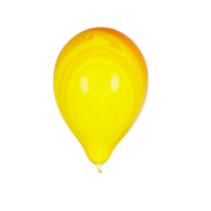 Ballon Marbré Jaune et Orange x1