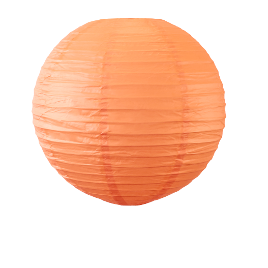 Boule Papier 40cm Corail (Nouvelle Collection)