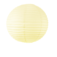 Boule Papier 40cm Ivoire (Nouvelle Collection)
