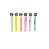 Bulles Tube Multicolore x6